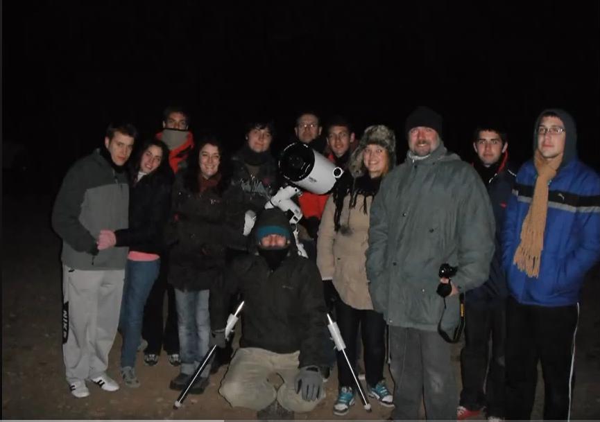 Vídeos de actividades astronómicas del IES Nicolás Copérnico