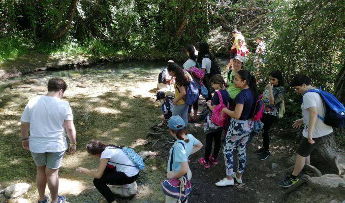 Excursión de delegados ambientales dentro del programa RECAPACICLA 2020