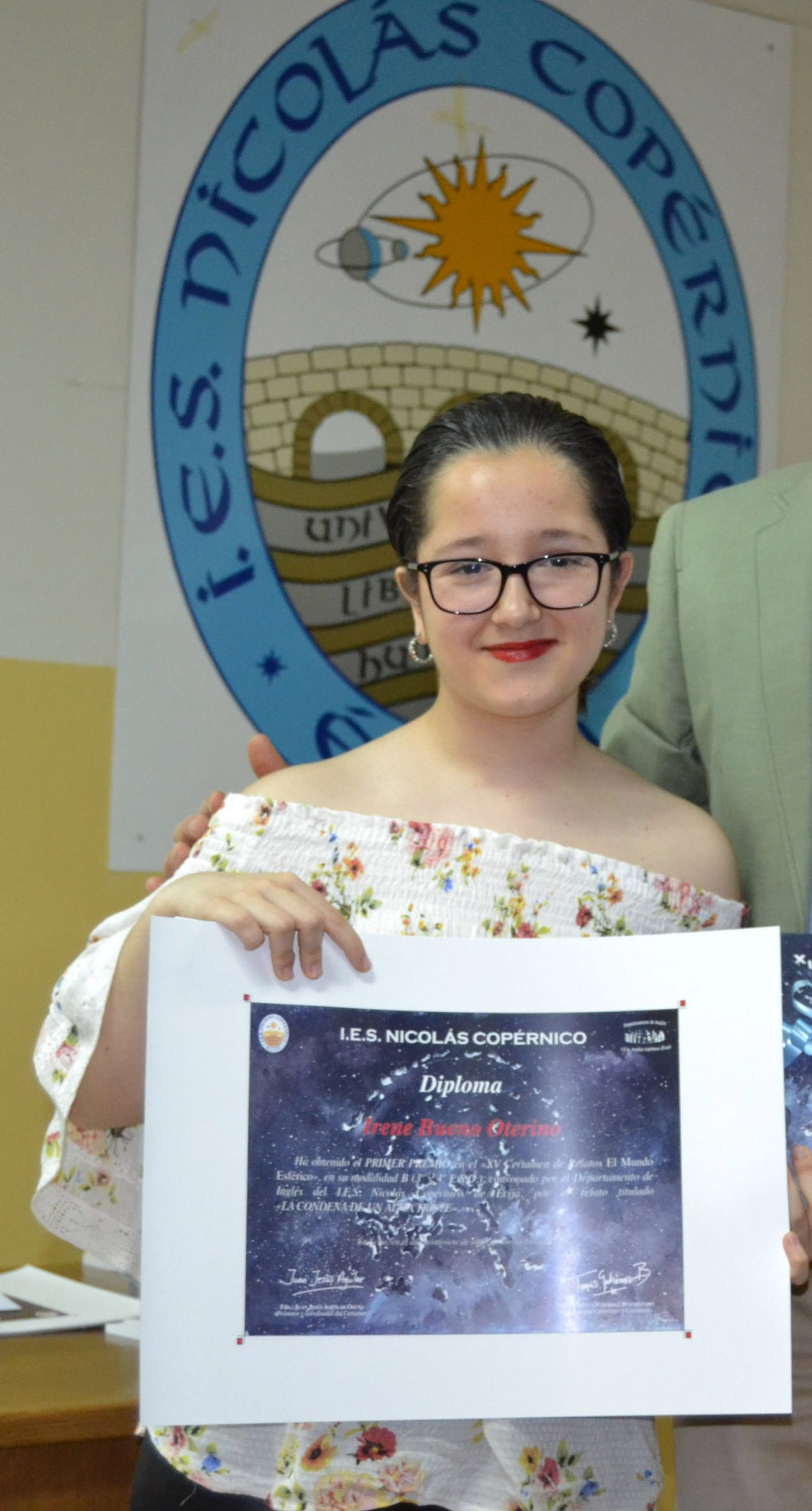 Irene Bueno Oterino, segundo premio en el «XXVI Premio Internacional Miguel Fernández» de Melilla