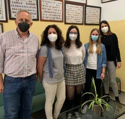 Intervención del alumnado preuniversitario del IES Nicolás Copérnico en la Cadena Ser
